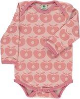 Langærmet Body Æble - S.Pink-508