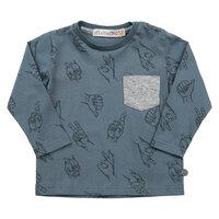 Kortærmet T-Shirt Med Mønster - 7742