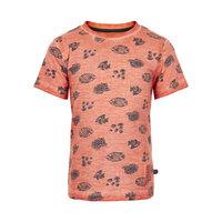 Kortærmet T-Shirt Med Mønster - 5340