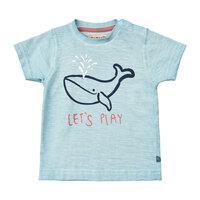 Kortærmet T-Shirt Med Hval - 7110