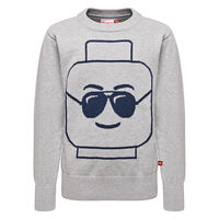 Sebastian 306 Sweater - Grey Melange