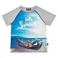 Kortærmet T-Shirt Båd - 1231