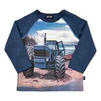 Langærmet T-Shirt Traktor - 7721