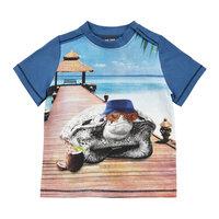 Kortærmet T-Shirt Skildpadde - 7170