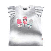 Kortærmet T-Shirt Stribet - 1450