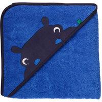 Hippo towel baby - ROYAL BLUE