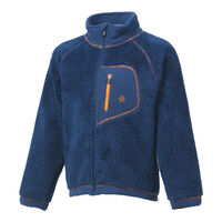 Burma pile jacket - ESTATE BLUE