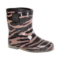 Rubber boot baby Zebra - ROSE
