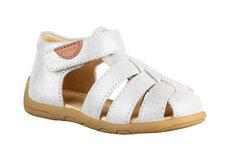 Lukket Sandal - Silver Glitter/902