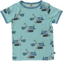 T-shirt Kortærmet Maskiner - AQUA-712