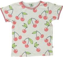 T-shirt Kortærmet Kirsebær - CREAM-199