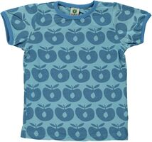 T-shirt Kortærmet Æbler - BLUE-701