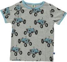 T-shirt Kortærmet Traktor - GREY-236
