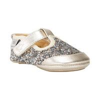 Baby Glitter Sko - Gold/Champagne