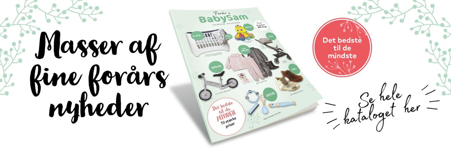 BabySam forårskatalog