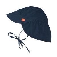 Solhat Med Bagklæde - Navy Blue
