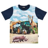 T-shirt  - Mørkeblå/7721