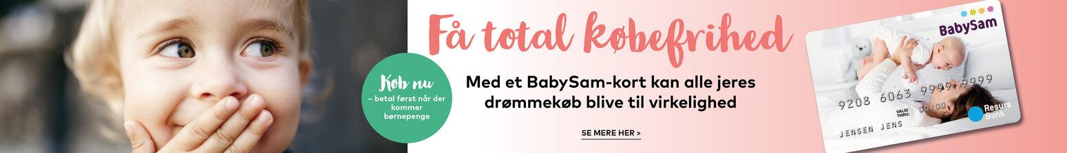 BabySam kort
