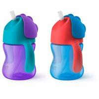 Sugerørskop 200 ml - Flere Farver