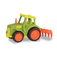Wonder Wheels, Traktor Med Harve