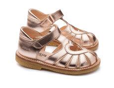 Hjerte sandal med lukket tå - 1311