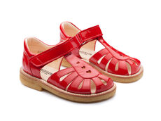 Sandal Med Hjerter Og Velcro Luk - 2325