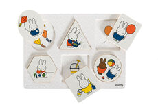 Miffy-Puslespil, 6 Dele