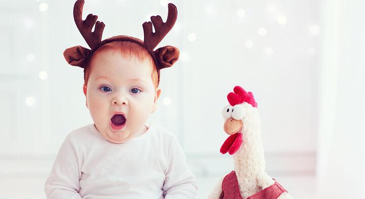Jul med børn