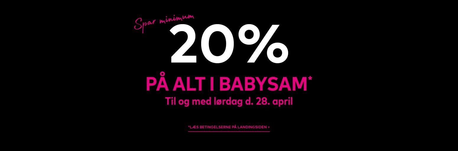 20% dage