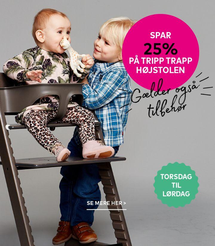 Tripp Trapp + tilbehør
