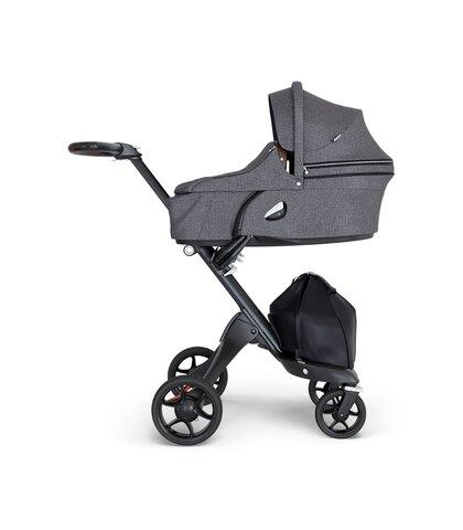 Xplory V6 Barnevogn Black Melange Babysamdk