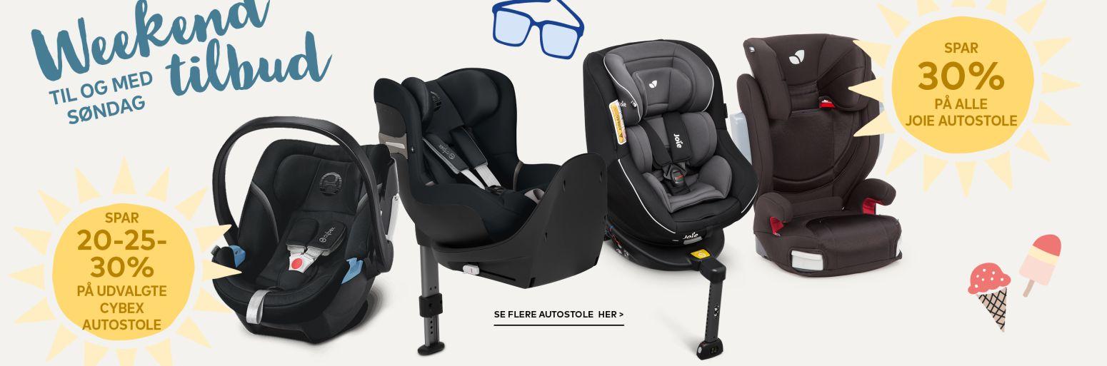 Autostole tilbud BabySam