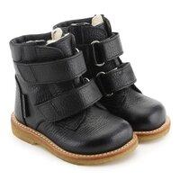 TEX-støvle med velcro - 0155 Sort