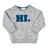 Sweatshirt Med Broderi - 1230