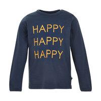 T-Shirt Med Print Happy - 7840