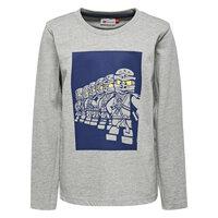 Thomas 614 - Langærmet T-Shirt - Grå