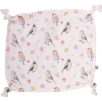 Bird Blankie - White
