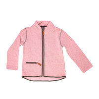 Mondo Fleece Jakke - Dove Pink