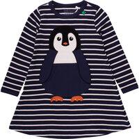 Pingvin Kjole Stribet - Navy