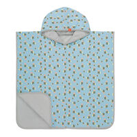Strandponcho Med UV 50+ - Bumble Bee