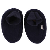 Woolly Fleece Booties - Navy