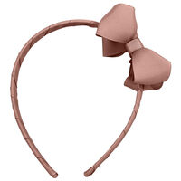 Rosa Milledeux® Hårbøjle Med Medium Dobbelt Sløjfe - 164