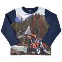 Langærmet T-shirt - 7361
