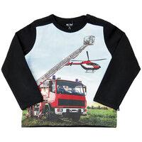 Langærmet T-shirt - 1061