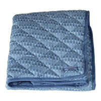 Nordic Sea Quilt Tæppe - Oyster Blue