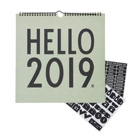 Kalender 2019 Grøn
