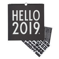 Kalender 2019 Sort