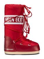 Moon Boot Nylon - Rød