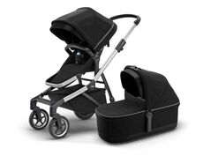 Thule Sleek Med Liggedel - Black