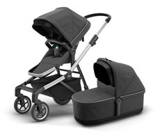 Thule Sleek Med Liggedel - Charcoal Grey